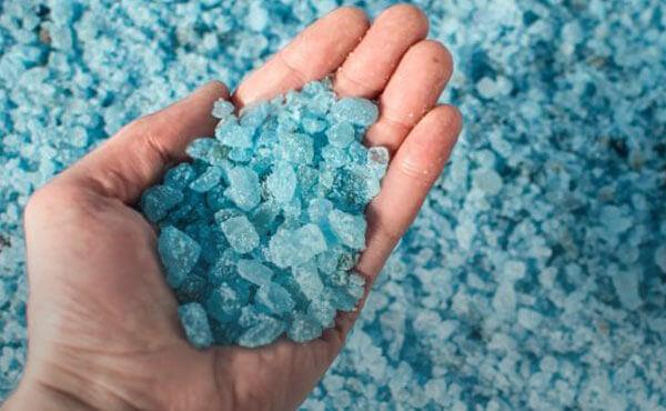 Bulk treated salt producer