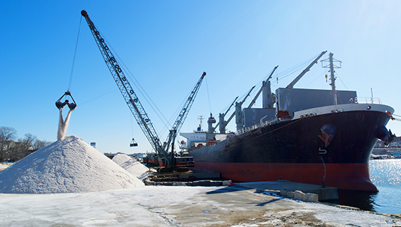 Trusted bulk salt providing company in North America - Canada Salt