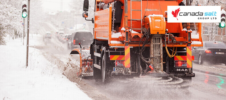 Why Do We Use Salt for Snow and Icy Roads in Winter - Canada Salt