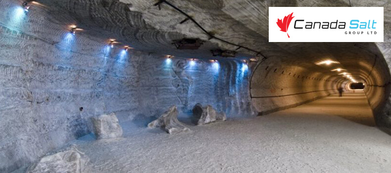 Where is the Largest Salt Mine in the World - Canada Salt