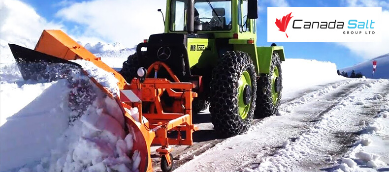 Equipment Needed For Snow Removal Business - Canada Salt