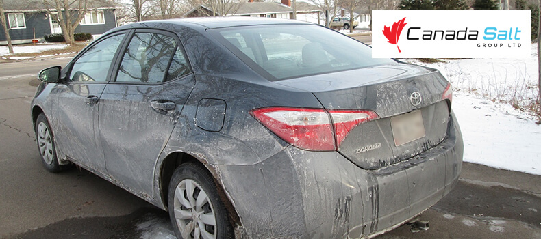 How to Remove Salt Stains from Car - Canada Salt
