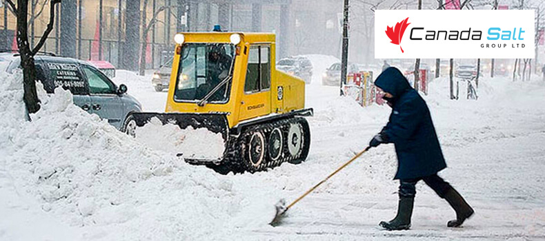 Snow And Ice Control Tips For Ontario - Canada Salt