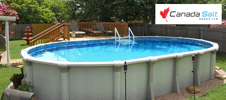 how to care for above ground pools - canada salt group ltd