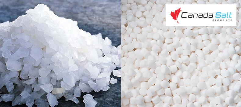 Water Softener Salt vs. Road Salt - Canada Salt